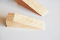 木製ドアストッパー